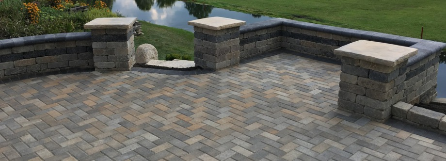 pavers birdsboro walkways patio retaining builders walls pa